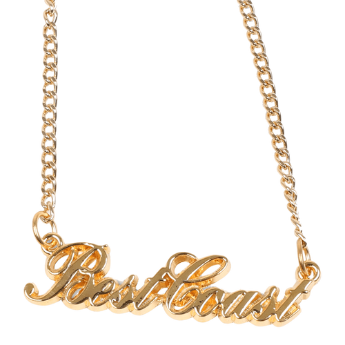 'Cursive' Logo Necklace