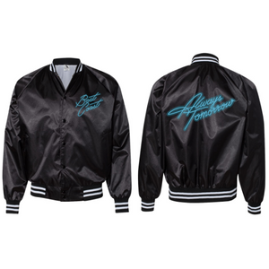 'Always Tomorrow' Satin Jacket