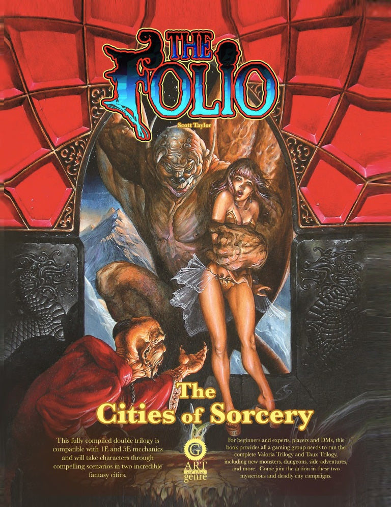 Cover of The Cities of Sorcery