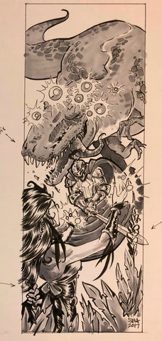 Folio #15: T-Rex Magic!
