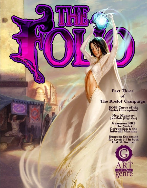 Cover of ROS3 Curse of the Violet Corruption!