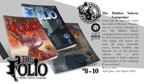 HIDDEN VALORIA FOLIO BUNDLE [PRINT EDITION]