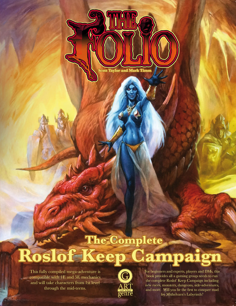Cover of The Complete Roslof Keep Campaign