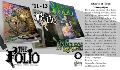 THE GHOSTS OF TAUX FOLIO BUNDLE [PRINT EDITION]