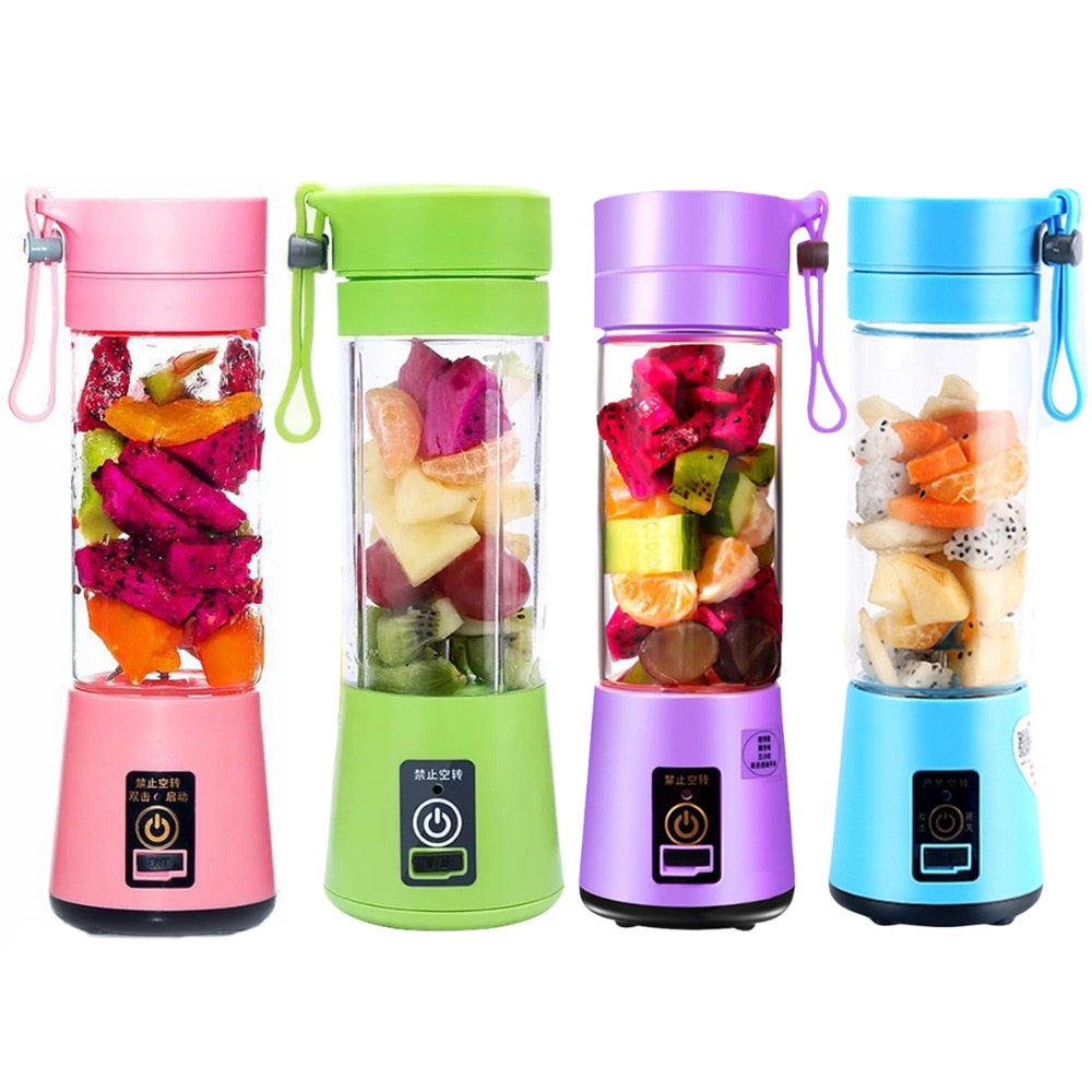 Best Selling 380ml Portable Rechargeable Blender