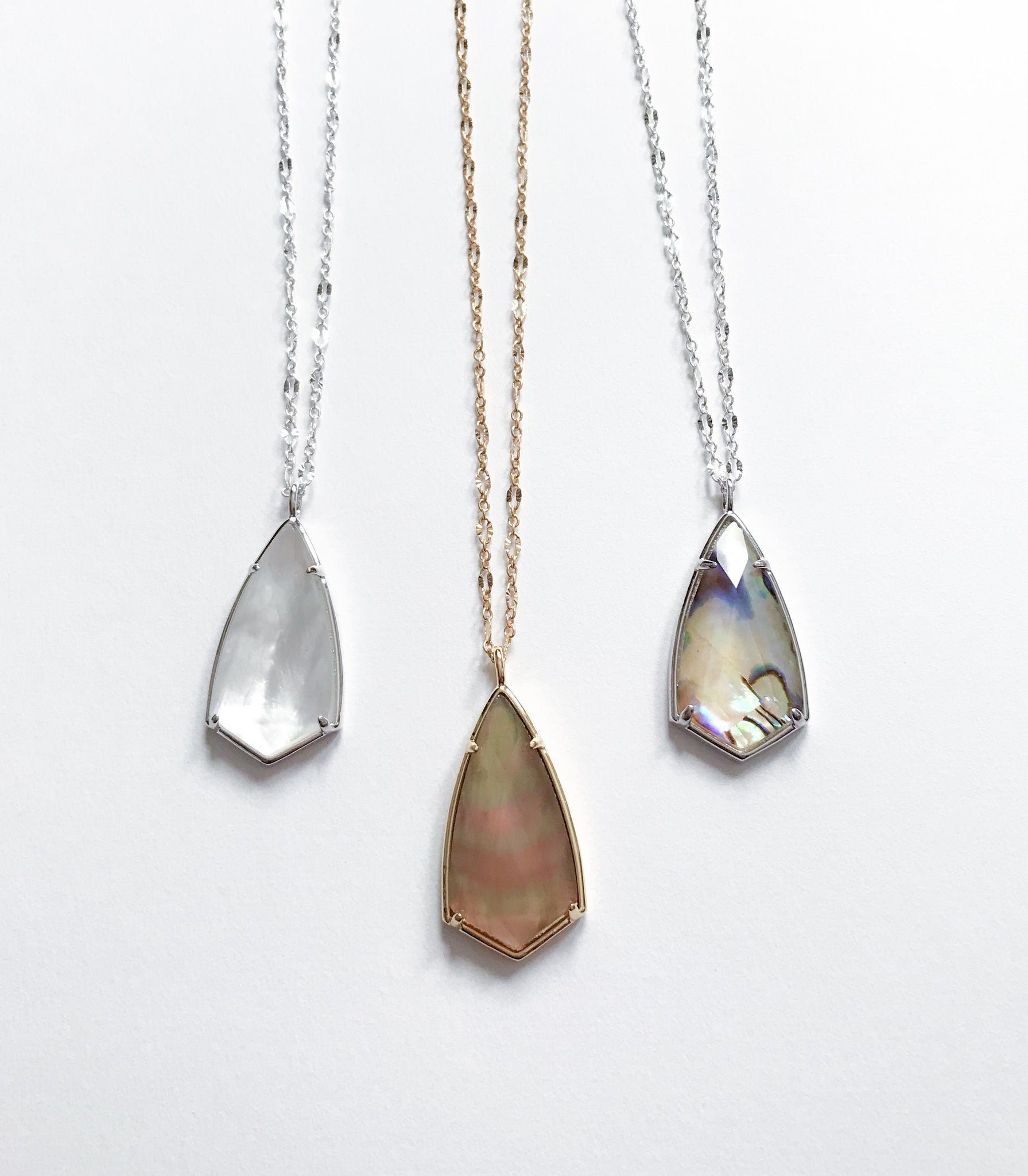 Rhombus Stone Necklace