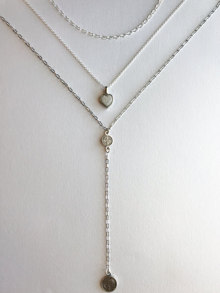 Sweetheart Layered Necklace