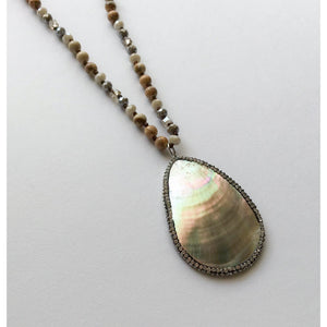 Athena Beaded Necklace