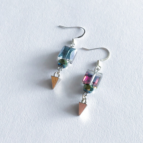 Iris Spike Earrings