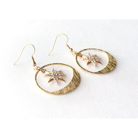 Tala Star Earrings