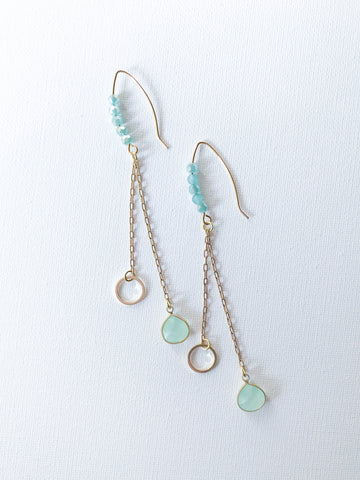 April Drop Earrings