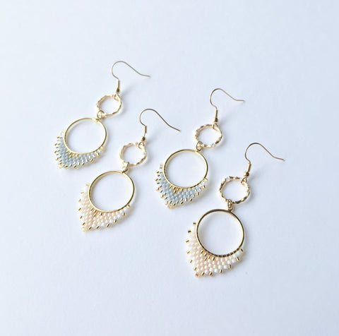 Nova Mini Beaded Earrings