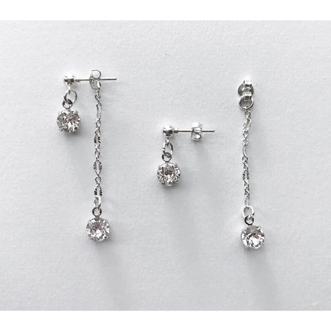 Crystal Convertible Earrings