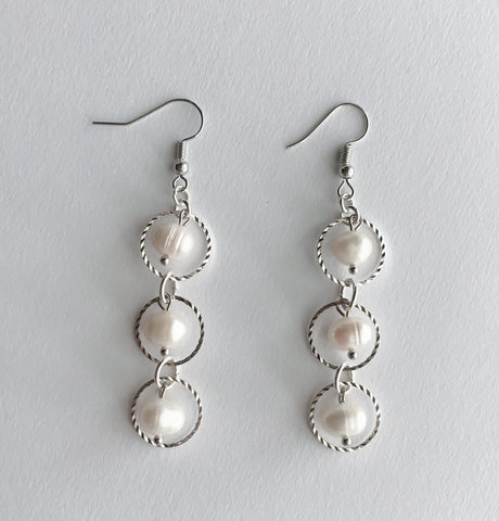 Natalie Pearl Earrings