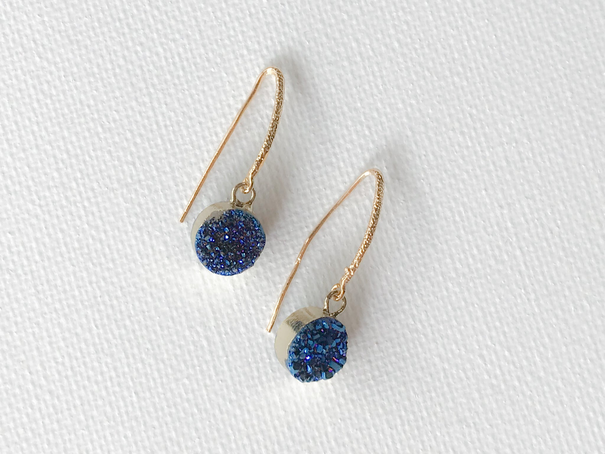 Midnight Druzy Earrings