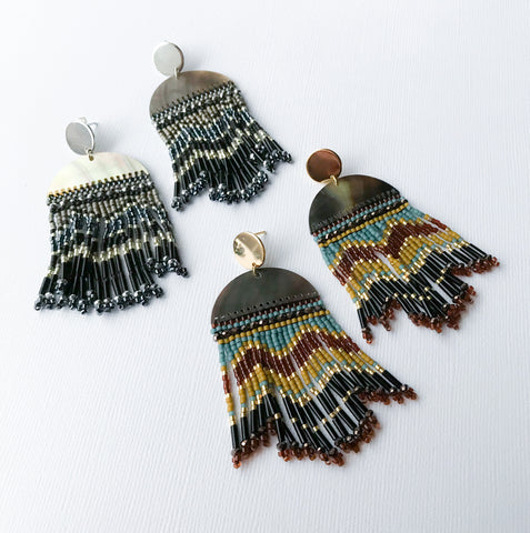 Shell Tribal Earrings
