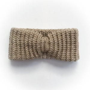 Turban Headband-Khaki