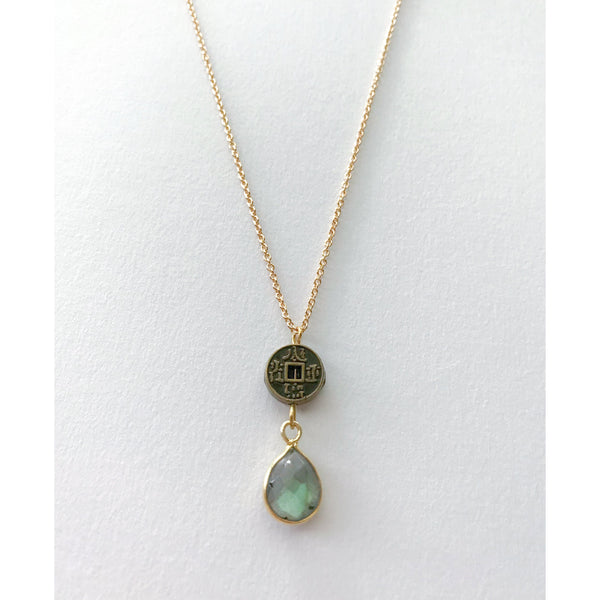 Dalia Labradorite Necklace