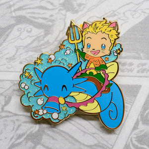 Aquaman enamel pin, 2 inches tall, gold plating. DC Comics enamel pin, Justice League enamel pin, Jason Mamoa, Amber Heard, Mera enamel pin, Justice League Snyner Cut, super hero enamel pin, pokemon enamel pin, horsea enamel pin, kitten enamel pin, cat enamel pin