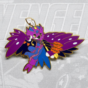 Pokemon Decidueye as Avengers Hawkeye gold enamel pin