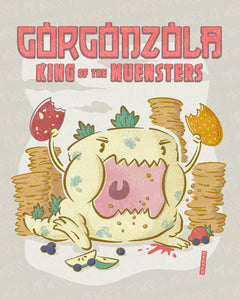 King of the Muensters Print