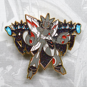 Pokemon Scizor hard enamel pin as Ultron, gold plating. Marvel Comics, Avengers Age of Ultron, Vision, WandaVision, Paul Bettany, Tony Stark, Iron Man, Robert Downey Jr, MCU
