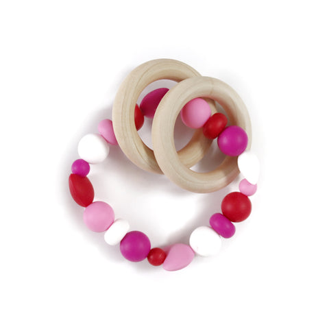 Valentine's Day Teether Rattle