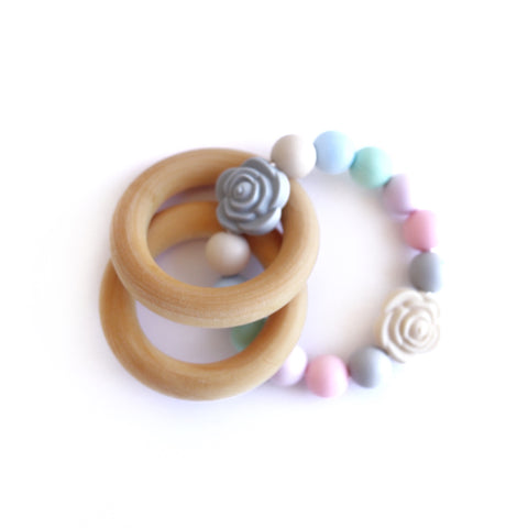 Flower Teether Rattle