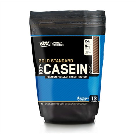 100% Casein Bag - Optimum Nutrition | 450 gram - 14 shakes-Casein-Optimum Nutrition-[Kopen]-[Body&Fit]