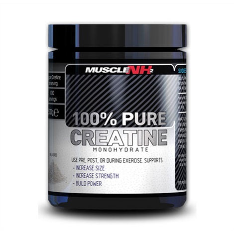 100% Pure Creatine - Muscle NH2 | 200 gram - 40 doseringen-Creatine-Muscle NH2-[Kopen]-[Body&Fit]