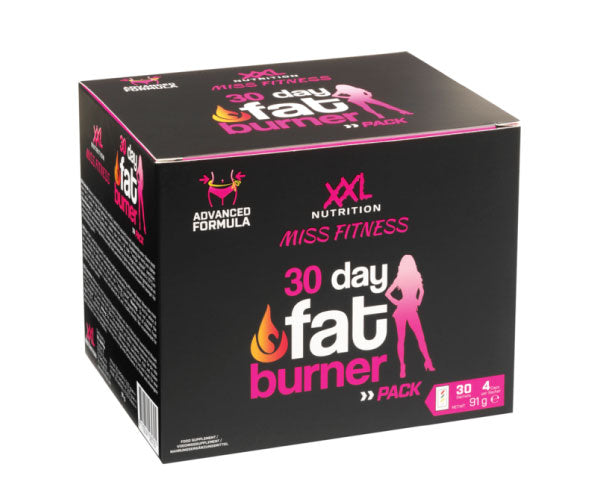 Miss Fitness - 30 Day Fat Burner Pack - XXL Nutrition | 30 packs-Burner-XXL Nutrition-[Kopen]-[Body&Fit]