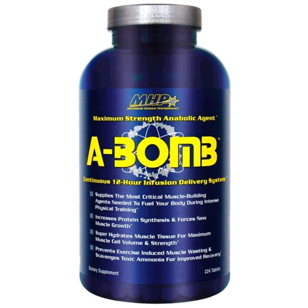 A-Bomb - MHP | 224 tabletten-T-booster-MHP-[Kopen]-[Body&Fit]