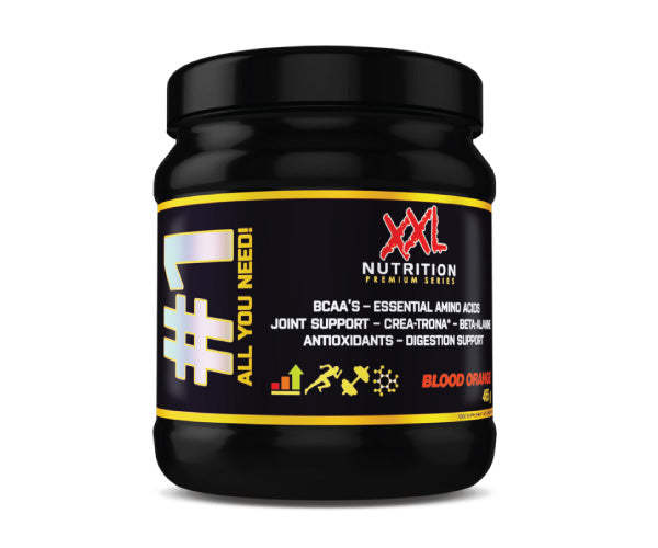 #1 All You Need! - XXL Nutrition | 465 gram - 7 doseringen-Amino-XXL Nutrition-[Kopen]-[Body&Fit]