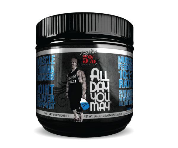 All Day You May - 5% Nutrition | 465 gram - 30 doseringen-Amino-5% Nutrition-[Kopen]-[Body&Fit]
