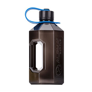 Alpha Bottle XXL Waterjug - Smoke Black - Alpha Bottle | 2400 ml - 1 stuks-Accessoires-Alpha Bottle-[Kopen]-[Body&Fit]