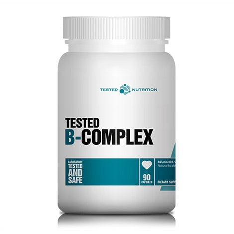 B-Complex - Tested Nutrition | 90 capsules-Vitamine-Tested Nutrition-[Kopen]-[Body&Fit]