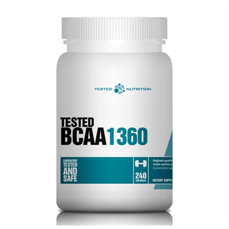 BCAA 1360 - Tested Nutrition | 240 capsules-Amino-Tested Nutrition-[Kopen]-[Body&Fit]