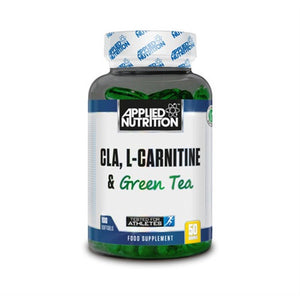 CLA+L-Carnitine+Green Tea - Applied Nutrition | 100 gels-Vitamine-Applied Nutrition-[Kopen]-[Body&Fit]