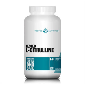 Citrulline Malate - Tested Nutrition | 240 capsules-Amino-Tested Nutrition-[Kopen]-[Body&Fit]