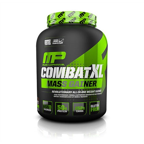 Combat XL Gainer - Musclepharm | 2722 gram - 8 shakes-Weightgainer-Musclepharm-[Kopen]-[Body&Fit]