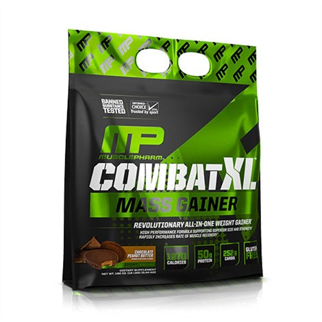 Combat XL Gainer - Musclepharm | 5443 gram - 16 shakes-Weightgainer-Musclepharm-[Kopen]-[Body&Fit]