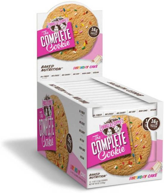 Complete Cookie - Lenny & Larry | 1356 gram - 12 cookies-Eiwitreep-Lenny & Larry-[Kopen]-[Body&Fit]