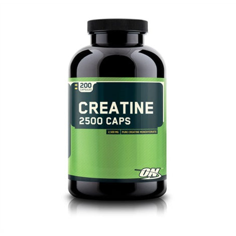 Optimum Creatine 2500 - Optimum Nutrition | 200 capsules-Creatine-Optimum Nutrition-[Kopen]-[Body&Fit]