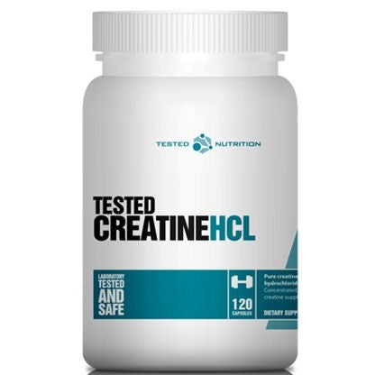 Creatine Con-Centrated (hcl) - Tested Nutrition | 120 capsules-Creatine-Tested Nutrition-[Kopen]-[Body&Fit]