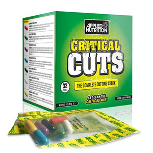 Critical Cuts - Applied Nutrition | 32 sachets-Burner-Applied Nutrition-[Kopen]-[Body&Fit]