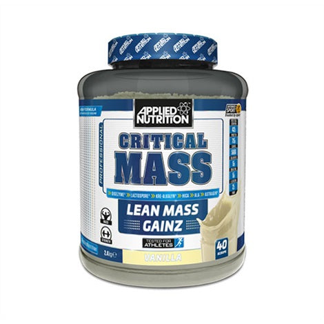 Critical Mass - Applied Nutrition | 2890 gram - 12 shakes-Weightgainer-Applied Nutrition-[Kopen]-[Body&Fit]