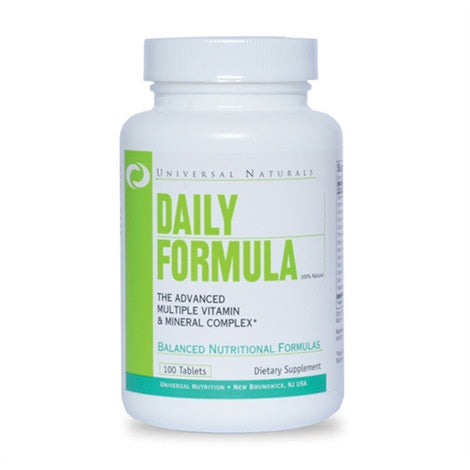 Daily Formula - Universal | 100 tabletten-Vitamine-Universal-[Kopen]-[Body&Fit]