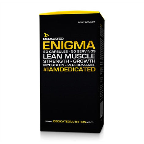 Enigma - Dedicated Nutrition | 50 capsules-T-booster-Dedicated Nutrition-[Kopen]-[Body&Fit]