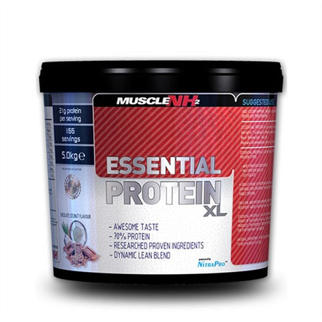 Essential Protein XL - Muscle NH2 | 5000 gram - 166 shakes-Whey-Muscle NH2-[Kopen]-[Body&Fit]