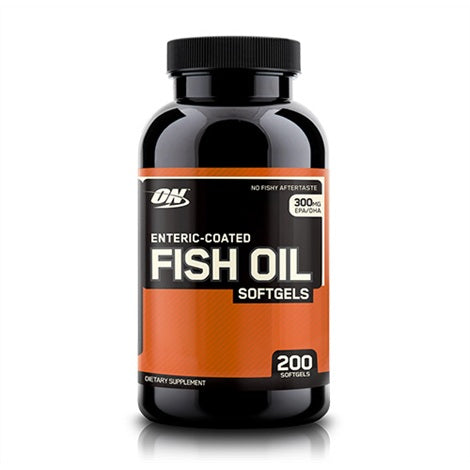 Fish Oil - Optimum Nutrition | 200 softgels-Vitamine-Optimum Nutrition-[Kopen]-[Body&Fit]